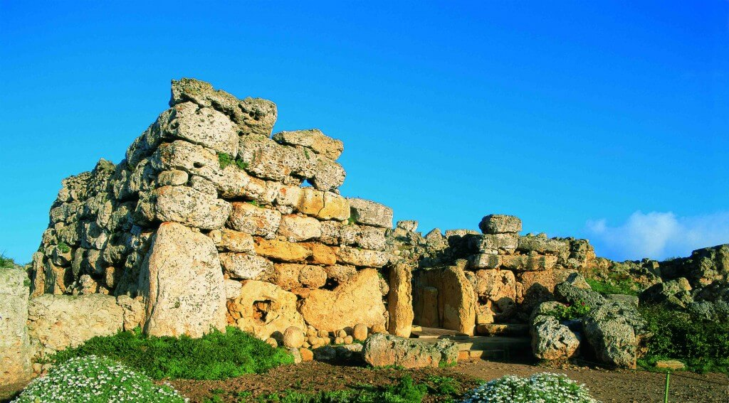 Megalithic temples in Malta and Gozo
