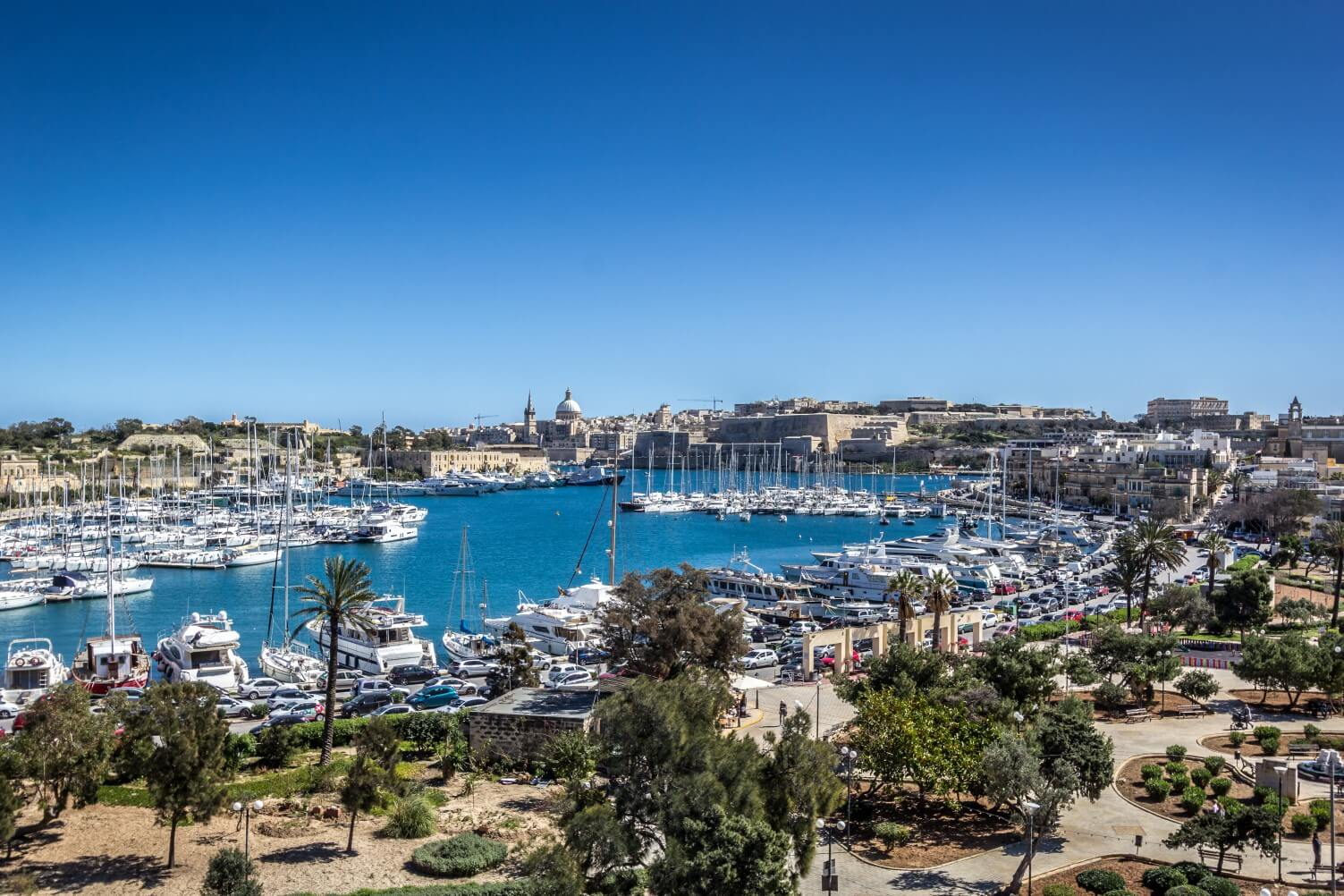 View from The Fountain in Malta | Perry Estate Agents